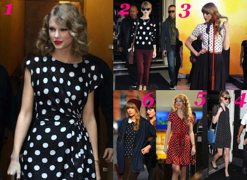 Taylor Swift Goes Retro
