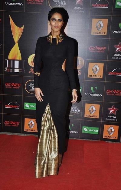 Vani Kapoor in Nikhil Thampi and jewelry from Amrapali