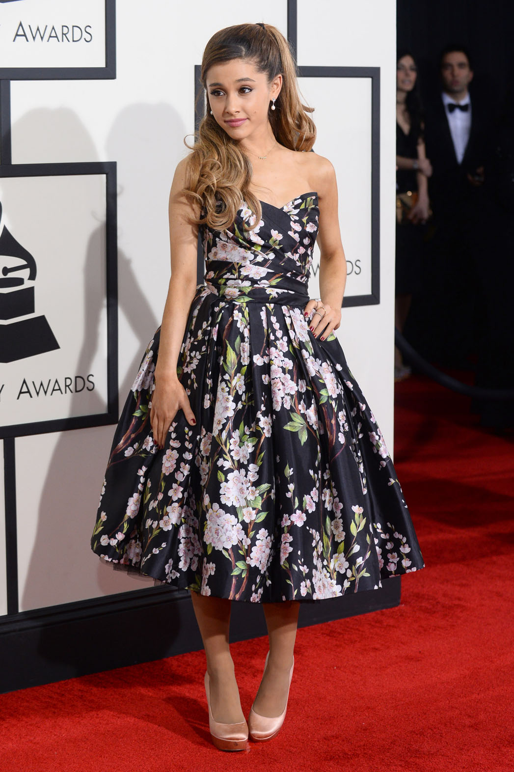 Ariana Grande in Dolce and Gabbana