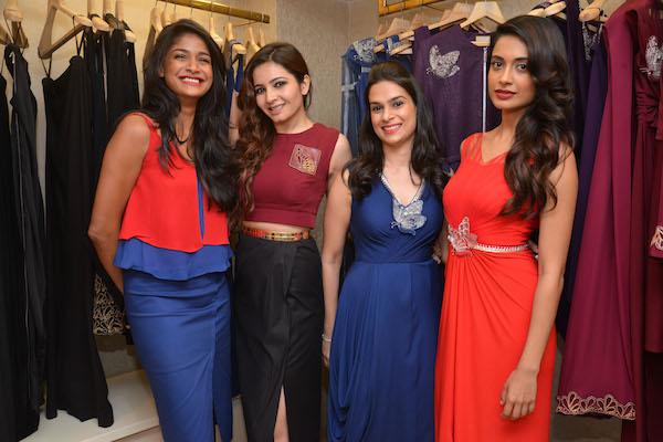 9 Carol Gracias, Shonali Nagrani, Ritika Bharwania and Sarah Jnae Dias