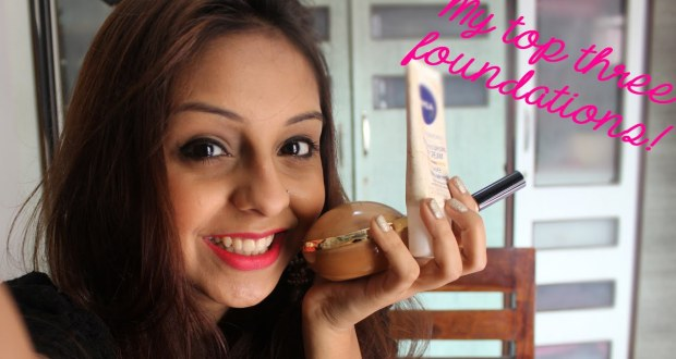 My Top Three Foundations | Make Up Review