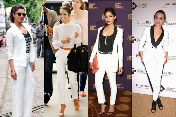 white suit hollywood bollywood celebrity