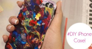 DIY iPhone Case Cover   Colour Splash Style