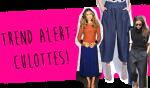 Trend Alert: Culottes