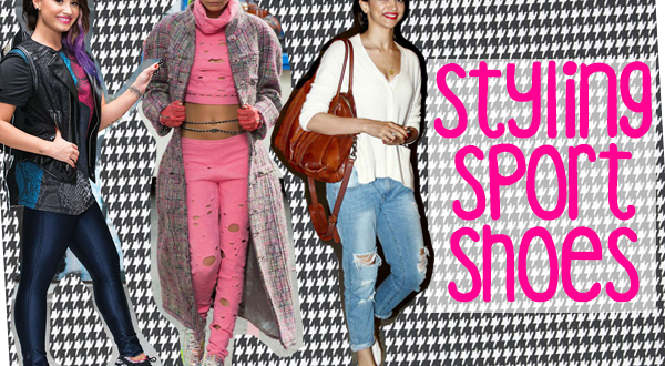 Celebrity Style: Styling Sport Shoes