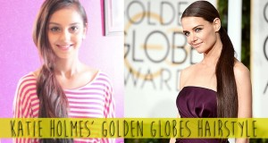 Katie Holmes Golden Globes 2015 Hairstyle / Celebrity Style