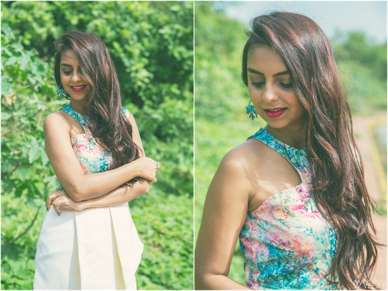 Manika Nanda Floral Dress Look