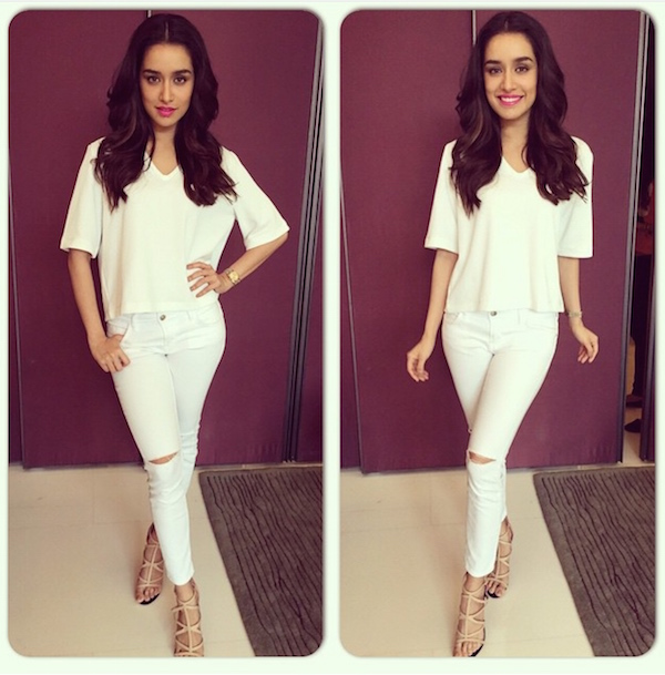 Shraddha Kapoor at ABCD2 Promotions