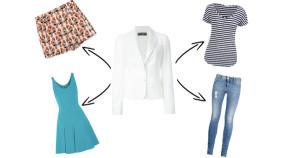 5 Ways To Style A White Blazer