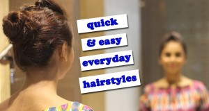 Quick & Easy Everyday Hairstyles You Can Wear To Work Or College // Under 3 Minutes!