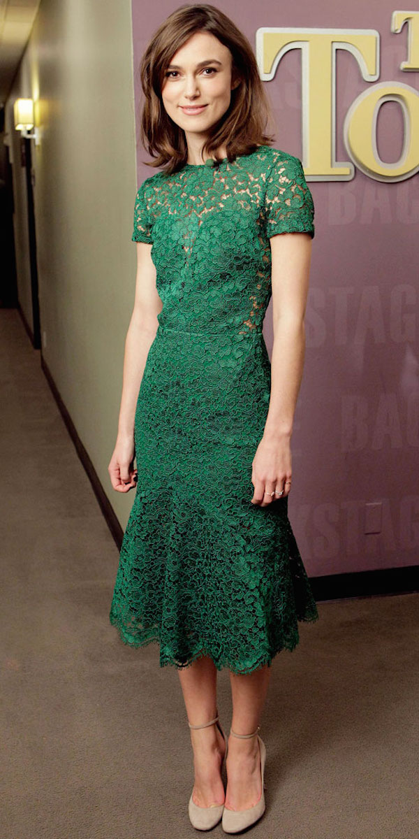 Keira Knightley Celebrity-Inspired Ways To Wear Lace
