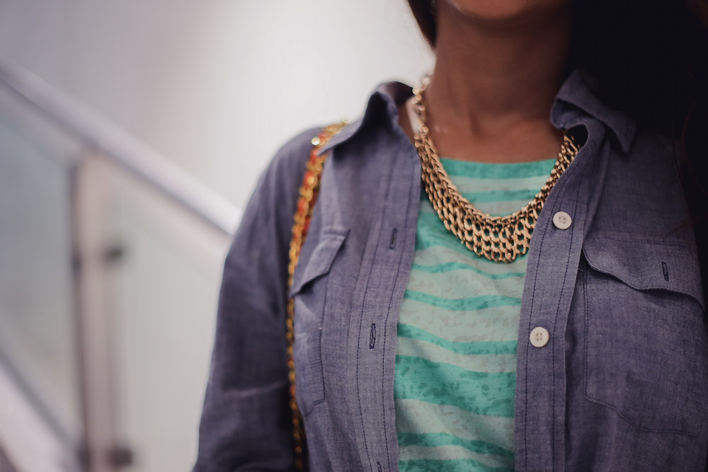Chambray Shirt Details: Personal Style
