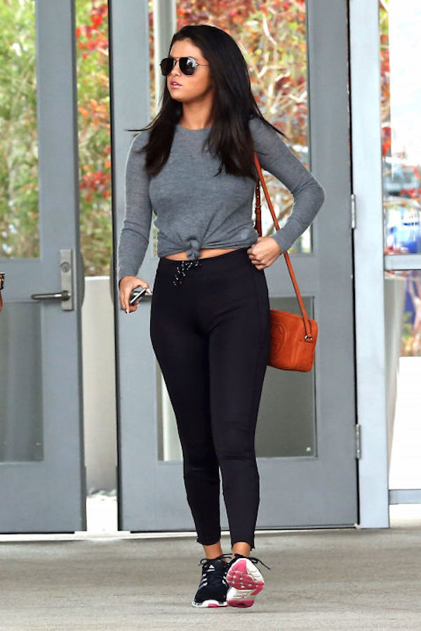 These Celebrity Workout Outfits Will Make You Want To Hit ...