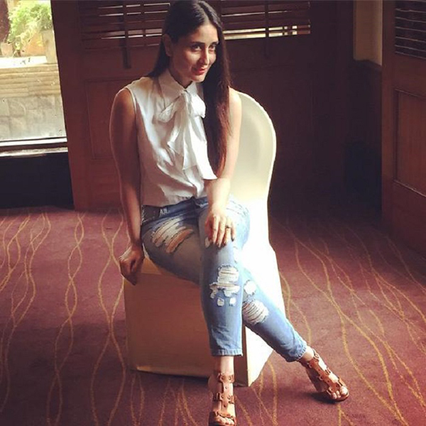 Kareena Kapoor Celebrity Inspiration: Ripped Jeans