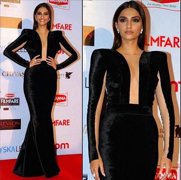 Sonam Kapoor Filmfare 2016
