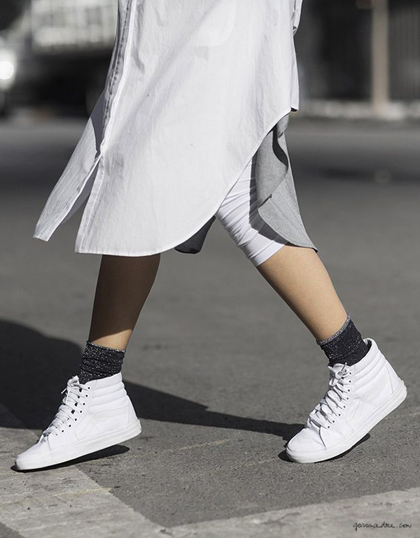 The Do's and Dont's Of Wearing Sneakers