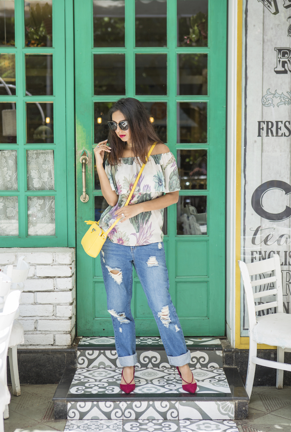 ONLY Denimise The World Personal Style Grand Mamas Cafe Look 6