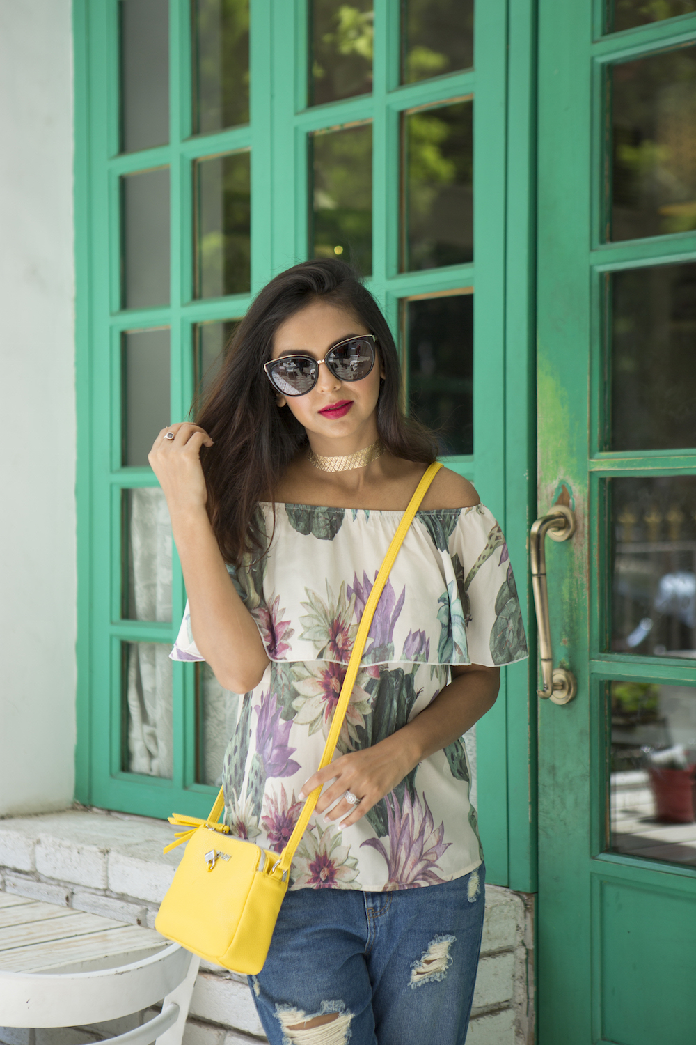 ONLY Denimise The World Personal Style Grand Mamas Cafe Look 7