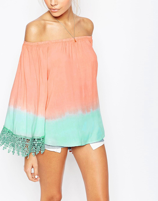 Off With The Shoulder, In With The Trend