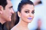 #WeDidntSeeThisComing | Aishwarya Rai With Purple Lips At The 69th Cannes Film Festival