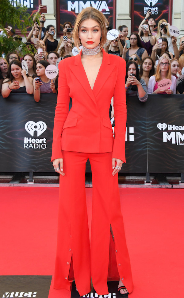 Gigi Hadid Best Dressed From The iHeart Radio Much Music Video Awards