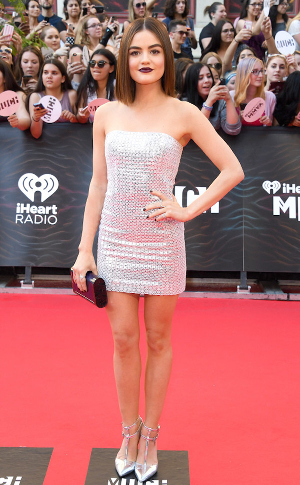 Lucy Hale Best Dressed From The iHeart Radio Much Music Video Awards