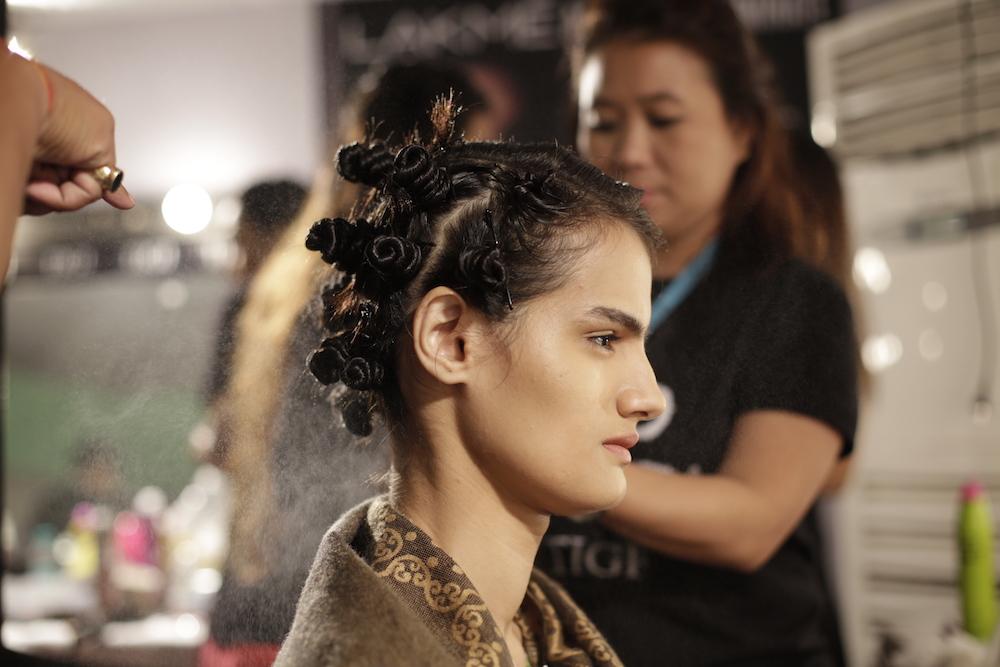 TIGI at Lakme Fashion Week 4