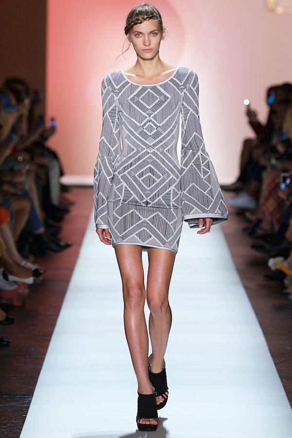 Herve Leger New York Fashion Week RTW Spring Summer 2016 Septem
