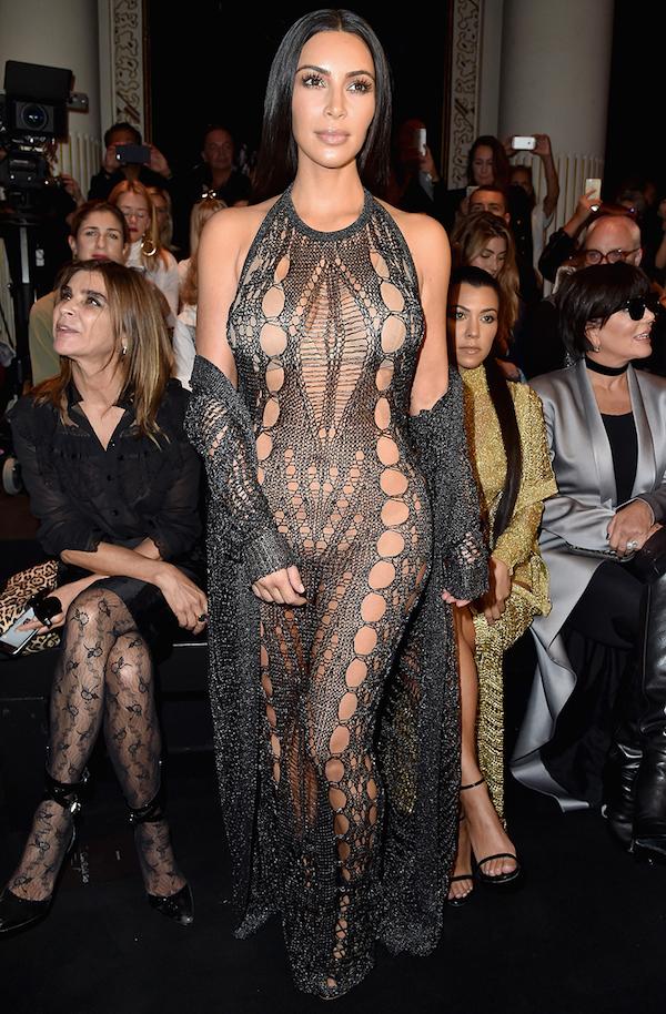 All Of Kim Kardashian West's Best Looks From Paris Fashion Week