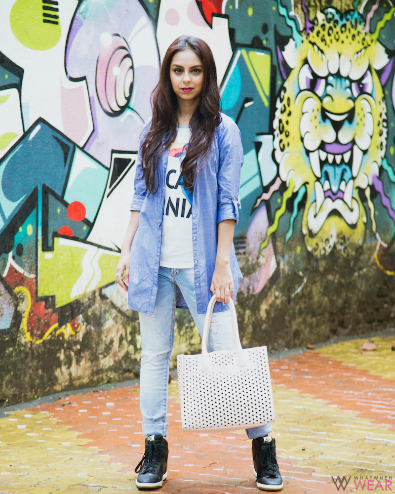 Only Street Style Colourful Contrasts