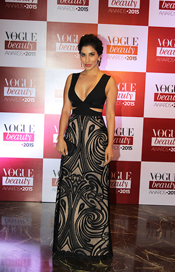 sophie choudry vogue beauty awards