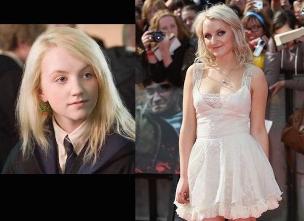 Luna Lovegood Then And Now Then And Now: The Cast...