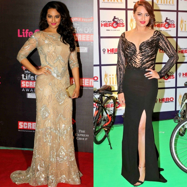 Sonakshi Sinha Then And Now: Celebrity Red Carpet Moments