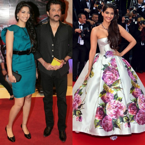 Sonam Kapoor Then And Now: Celebrity Red Carpet Moments